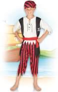 Kinderkostüm 82160 - Pirat Jack, weiß