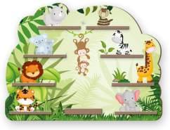 Kreative Feder 'Dschungel' Regal für Musikbox und Figuren