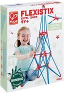 Hape E5563 - Flexistix-Bausatz Eiffelturm aus Bambusstäben - Konstruktionsspielzeug