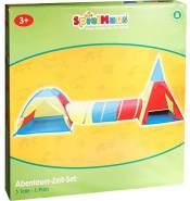Spielmaus Abenteuer-Zelt-Set