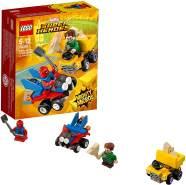 LEGO Marvel Super Heroes Mighty Micros: Spider-Man vs. Sandman 76089 Cooles Superheldenspielzeug für Kinder