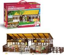 Craze - Bibi & Tina - Großer Martinshof-Pferdestall 14899 - großer Pferdehof, Reiterhof, Spielfiguren-Set