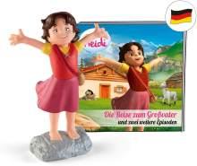 tonies Hörfiguren für Toniebox: Hörspiel Heidi - Die Reise zum Großvater Figur mit 12 Geschichten und Lieder - ca. 60 Min - ab 5 Jahre - DEUTSCH