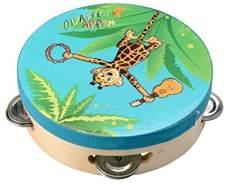 Beluga Spielwaren 67002 - Giraffenaffen Tamburin