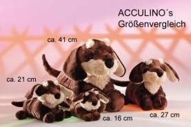 Rudolph fertig Montenapoleone Weiches Spielzeug Hund (27cm)