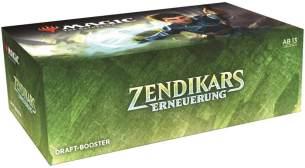 Wizards of the Coast Magic: The Gathering - Zendikars Erneuerung Draft-Booster