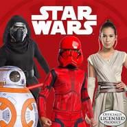 Star Wars Rubies 3701276 - Red Stormtrooper Classic EP. IX - Child, Gr. M,L (Medium)