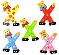 Brink Holzspielzeug Buchstabe: 'X' - 1 Stück, zufällige Auswahl, keine Vorauswahl möglich