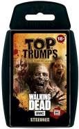 Winning Moves 63445 Top Trumps-The Walking Dead AMC Streuner Edition: Trumpfe mit den gruseligsten Zombies aus Allen Staffeln, Trumpfspiel