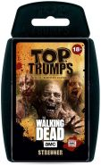 Winning Moves 63445 Top Trumps-The Walking Dead AMC Streuner Edition: Trumpfe mit den gruseligsten Zombies aus Allen Staffeln, Trumpfspiel