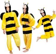 Boland 88264 Kinderkostüm Honigbiene aus Plüsch, 116