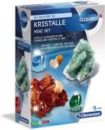 Clementoni 69936 Galileo Science – Kristalle selbst züchten Mini-Set, Experimentierkasten für kleine Wissenschaftler, Spielzeug für Kinder ab 8 Jahren, farbenfrohe Experimente fürs Kinderzimmer