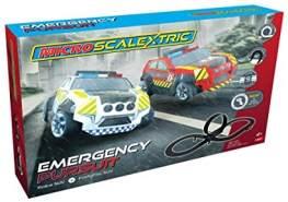 Scalextric G1132P Emergency Pursuit Autorennbahnen, Schwarz