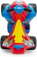 INJUSA - Quad Paw Patrol 6V Rot mit Fußbeschleuniger und breiten Kunststoffrädern Empfohlen für Kinder von 1 bis 3 Jahren