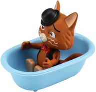 Smoby 180116 Spielfigur Stink mit Badewanne, Figur aus der 44 Cats Serie, für Kinder ab 3 Jahren, Mehrfarbig