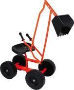 Legler - Small Foot 4628 - Bagger mit Rädern