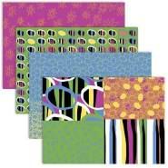Creativ Decoupage Papier Tabelle Happy Farben, Braun, 17 g