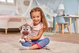Simba 6315877557 Disney Frozen 2, Chunky Sven, 25cm, braun, 25 cm