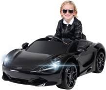Kinder Elektroauto McLaren 720 Kinderauto Elektrofahrzeug Elektro Kinderfahrzeug (Onyx Black)