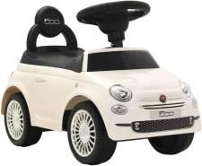 vidaXL Kinder-Aufsitzauto Fiat 500 Weiß