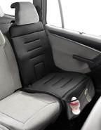 Jané 050314C01 Schutzunterlage für das Auto zur Verwendung von Kindersitzen, für empfindliche Sitzbezüge und Leder, rutschfest, schwarz