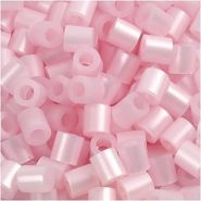 Nabbi Schmelzperlen aus Kunststoff, Plastik, Light Pink Mother of Pearl, 1100-Piece