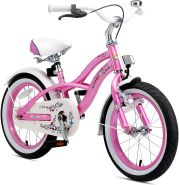 Kinderfahrrad Bikestar 16 Zoll - Deluxe Cruiser Glamour Pink
