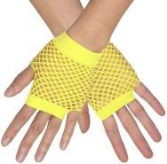 Boland Handschuhe Handgelenk New York Damen neongelb Einheitsgröße