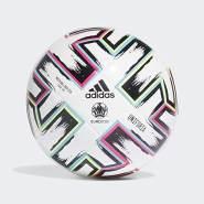 adidas Boys UNIFO LGE J290 Soccer Ball, White-Black-Signal Green-Bright Cyan, 5