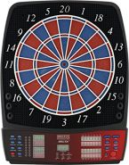BULL'S 'Delta Iv Russ Bray Sound' Elektronik Dartboard, Mehrfarbig, 59 x 46 cm