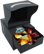 GAMEGEN!C GGS25006 KeyForge Gemini Deck Box Black, Schwarz