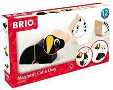 BRIO 30269 - Magnet-Tiere Hund und Katze
