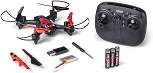 Carson X4 Quadcopter Angry Bug 2. 0 RC, rot/schwarz