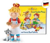 Tonies 'Conni backt Pizza / Conni lernt Rad fahren', Hörfigur mit ca. 40 Minuten Spielzeit, ab 3 Jahren