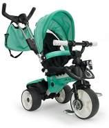 Dreirad in Blau für Kinder ab 6 Monaten mit Sonnendach und Anti-Rutsch Pedalen City Max Cobalt