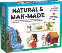 Creative Educational 624,8 cm Natur und Man Made Spiel