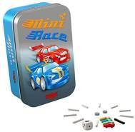 HABA 304622 - Mini Race, Ein turbostarkes Autorennen - Würfelspiel, Reisespiel
