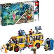 LEGO 70423 Hidden Side Spezialbus Geisterschreck 3000 Kinderspielzeug, Augmented Reality Funktionen