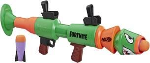 Hasbro E7511EU4 Nerf Fortnite RL-Blaster, Rusty Rocket, Spielzeugblaster mit Schaumstoffraketen