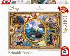 Schmidt Spiele - Thomas Kinkade Disney Dreams Collection, 2000 Teile 59607