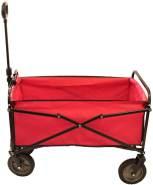 Kynast Bollerwagen rot faltbar 83 x 53 cm
