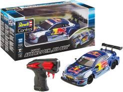 Revell Control 24686 RC Scale Car 1:24 DTM Audi Red Bull, GHz-Fernsteuerung, originalgetreue Karosserie ferngesteuertes Auto, 20,5cm
