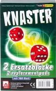 NSV - 4083 - Knaster - Ersatzblöcke 2er Set - Würfelspiel