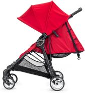 Baby Jogger 'City Mini Zip' Buggy 2018 in Rot, inkl. Korbnetz, Getränkehalter