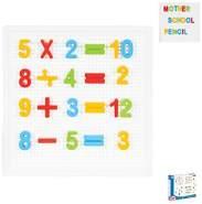 Pilsan Buchstaben und Zahlen Lernset 03297 bunte Buchstaben, Steckspiel 222-tlg bunt