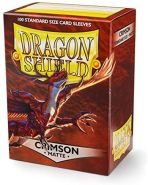 Arcane Tinmen ApS ART11021 - Dragon Shield Matte: Crimson, 100 Stück