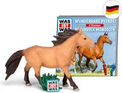 tonies Hörfiguren für Toniebox - was IST was - Wunderbare Pferde / Reitervolk Mongolen - ca. 79 Min. - Ab 6 Jahre -DEUTSCH