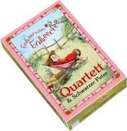 Erdbeerinchen Erdbeerfee. Kartenspiel: Spielkarten für 'Quartett' und 'Schwarzer Peter'