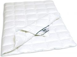 f.a.n. Duo-Steppbett Medisan, 100% Baumwolle, für Allergiker geeignet, 135 x 200 cm