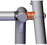 Croozer Unisex– Erwachsene Abstandshalter-3092018650 Abstandshalter, Silber, One Size